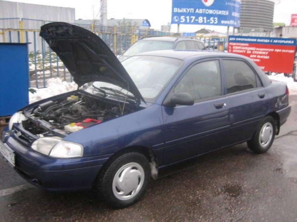1997 kia avella pictures, 1300cc., gasoline, ff, manual for sale