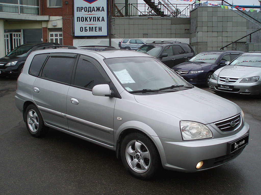 2004 Kia Carens Pictures 1800cc For Sale