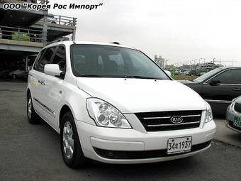 used 2006 kia carnival photos 2900cc gasoline ff. Black Bedroom Furniture Sets. Home Design Ideas