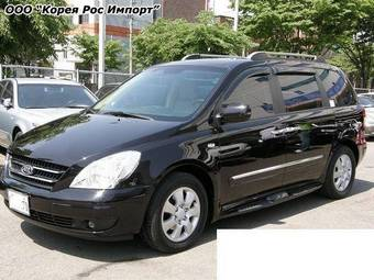 used 2006 kia carnival photos 2900cc diesel ff. Black Bedroom Furniture Sets. Home Design Ideas