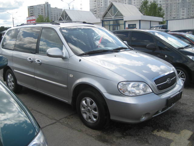 2006 kia carnival pictures 2500cc gasoline automatic. Black Bedroom Furniture Sets. Home Design Ideas