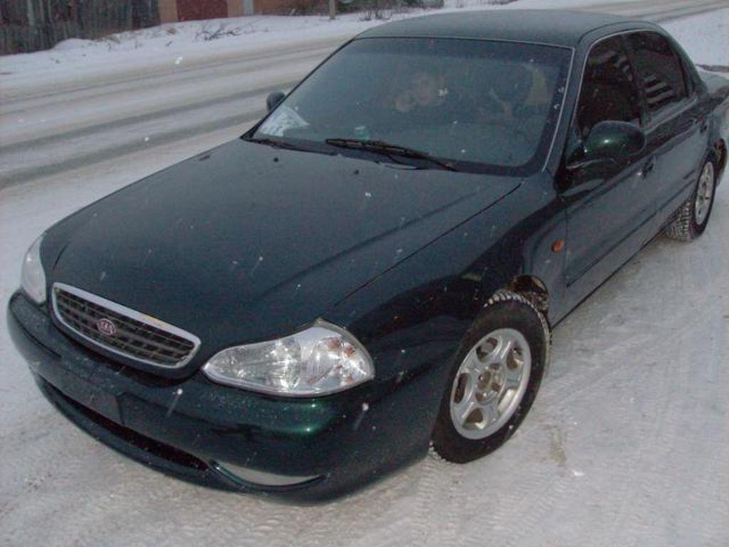2001 KIA Clarus Pictures, 1800cc., Gasoline, FF, Automatic For Sale