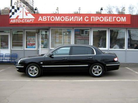 Opirus 2006 Interior Kia Opirus 2006