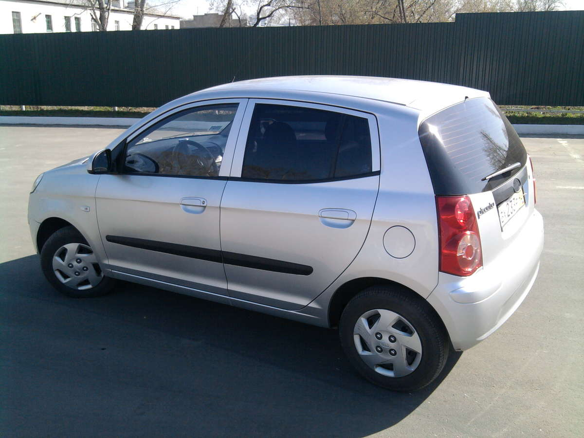 Used 2010 Kia Picanto Photos 1100cc Gasoline Ff