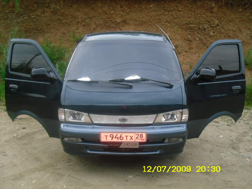 1996 KIA Pregio Photos, 2.7, Diesel, FR or RR, Manual For Sale