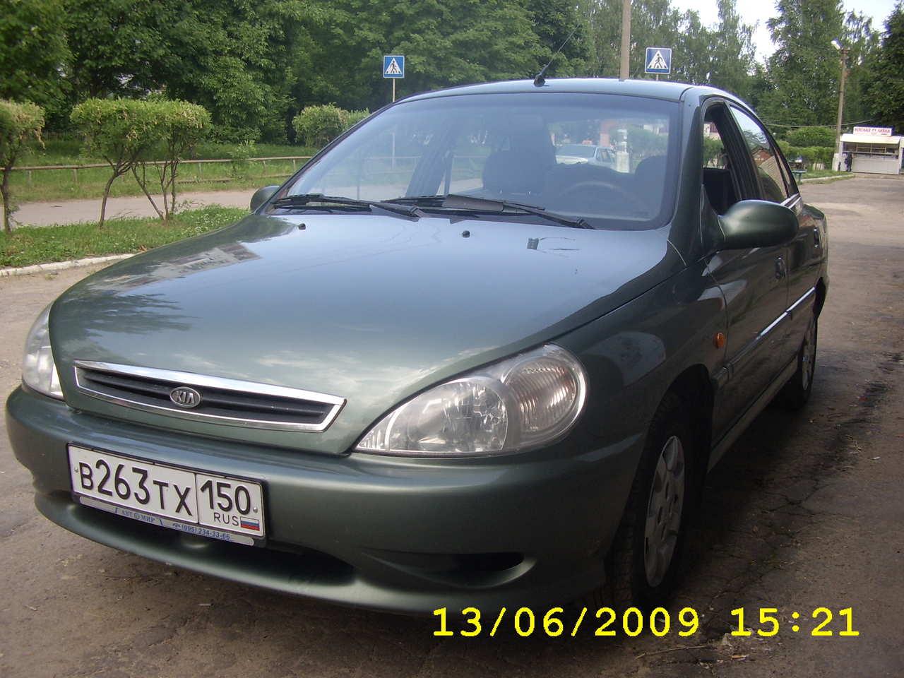 Used 2001 KIA RIO Photos 1500cc Gasoline FF Manual For Sale
