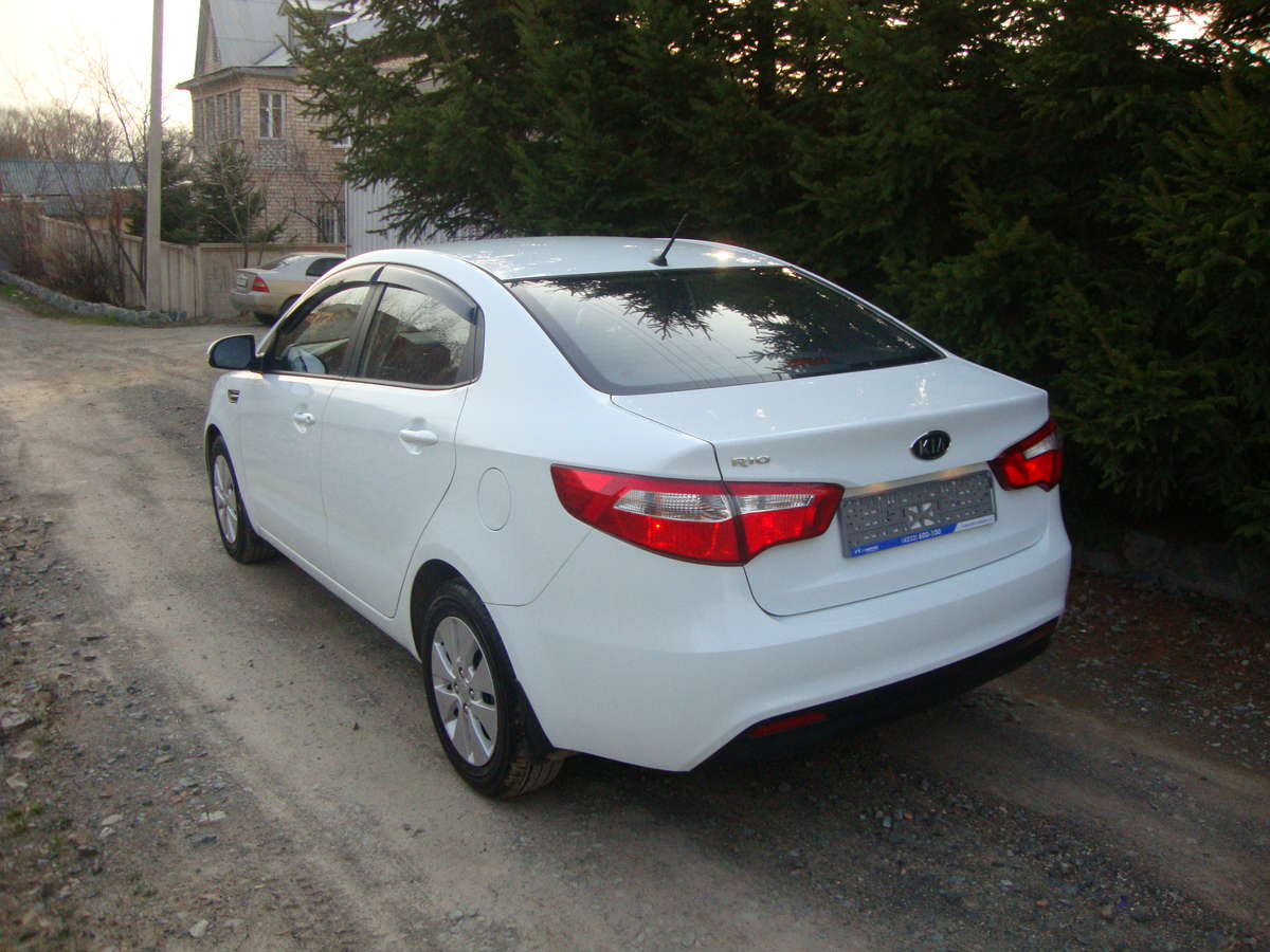 2012 Kia Rio For Sale 1600cc Gasoline Ff Automatic