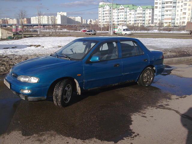 1996 KIA Sephia specs, Engine size 1.6l., Fuel type ...
