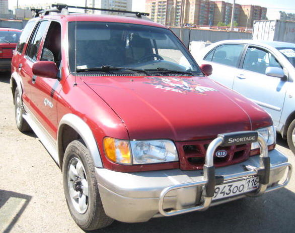 1999 KIA Sportage Pictures, 2000cc., Gasoline, Automatic