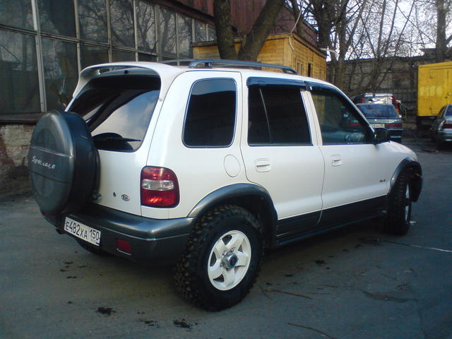 used 2002 kia sportage photos 2 0 gasoline automatic for sale. Black Bedroom Furniture Sets. Home Design Ideas
