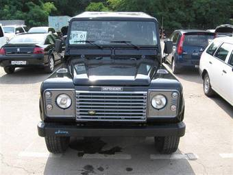 2005 LAND Rover Defender Pics