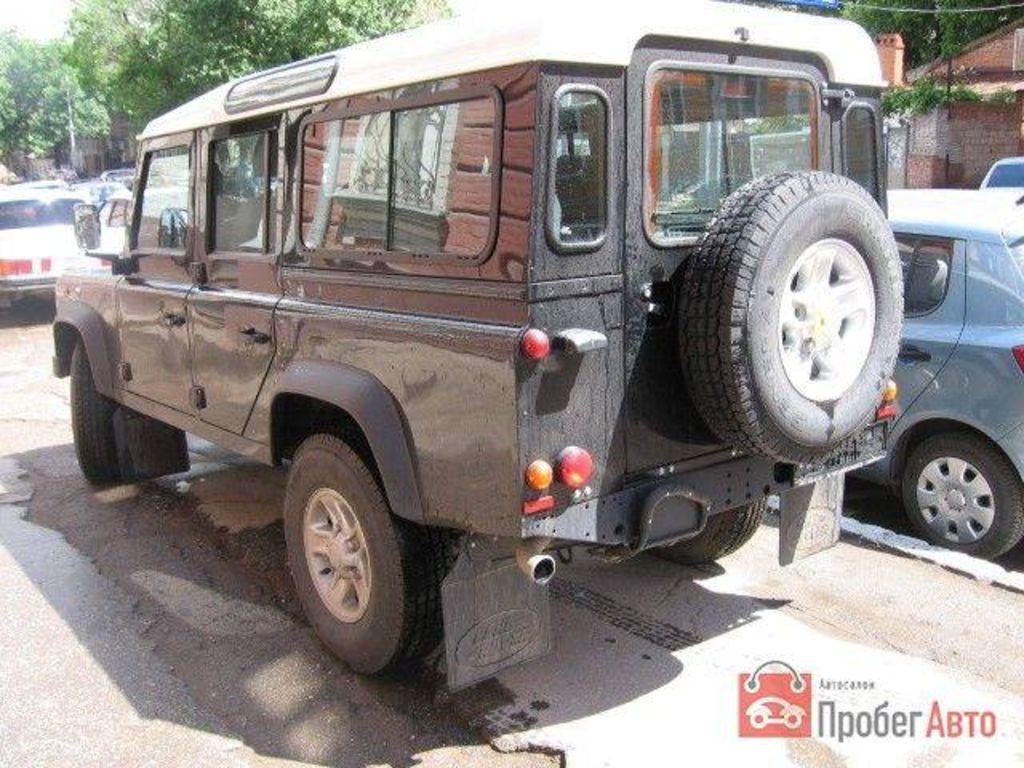 2007 LAND Rover Defender For