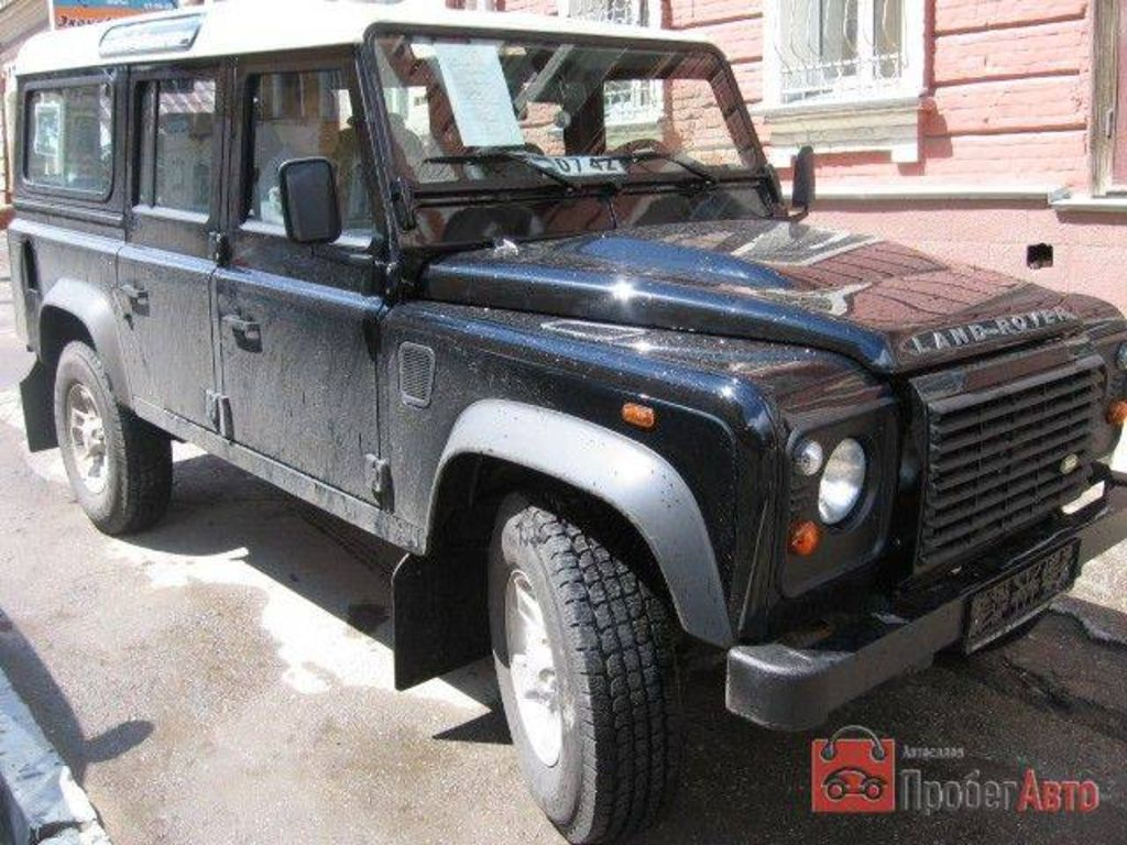land rover defender 2007: