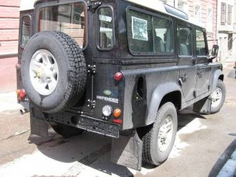 2007 LAND Rover Defender Photos