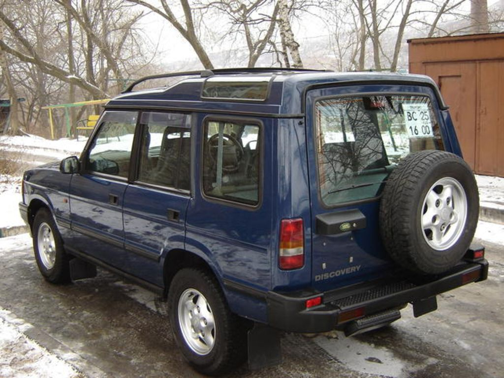 1998 Land Rover Discovery Pictures