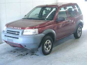 2001 LAND Rover Freelander For Sale