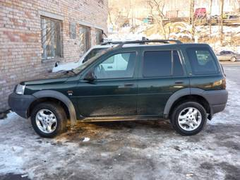 2001 Land Rover Freelander Pictures