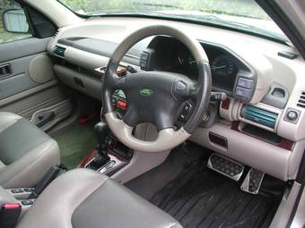2001 LAND Rover Freelander Photos