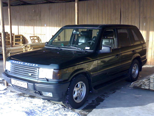 1998 land rover range rover photos 4600cc gasoline automatic for sale. Black Bedroom Furniture Sets. Home Design Ideas