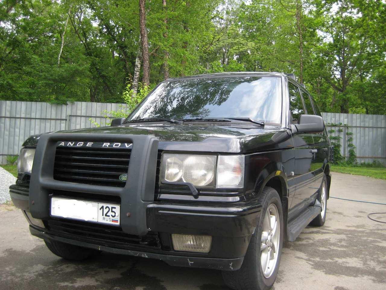 1998 land rover range rover for sale 4600cc gasoline automatic for sale. Black Bedroom Furniture Sets. Home Design Ideas