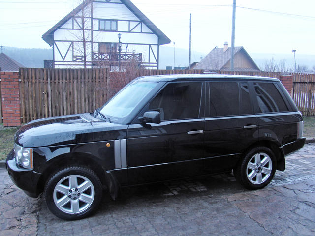 used 2002 land rover range rover photos 4400cc gasoline automatic for sale. Black Bedroom Furniture Sets. Home Design Ideas