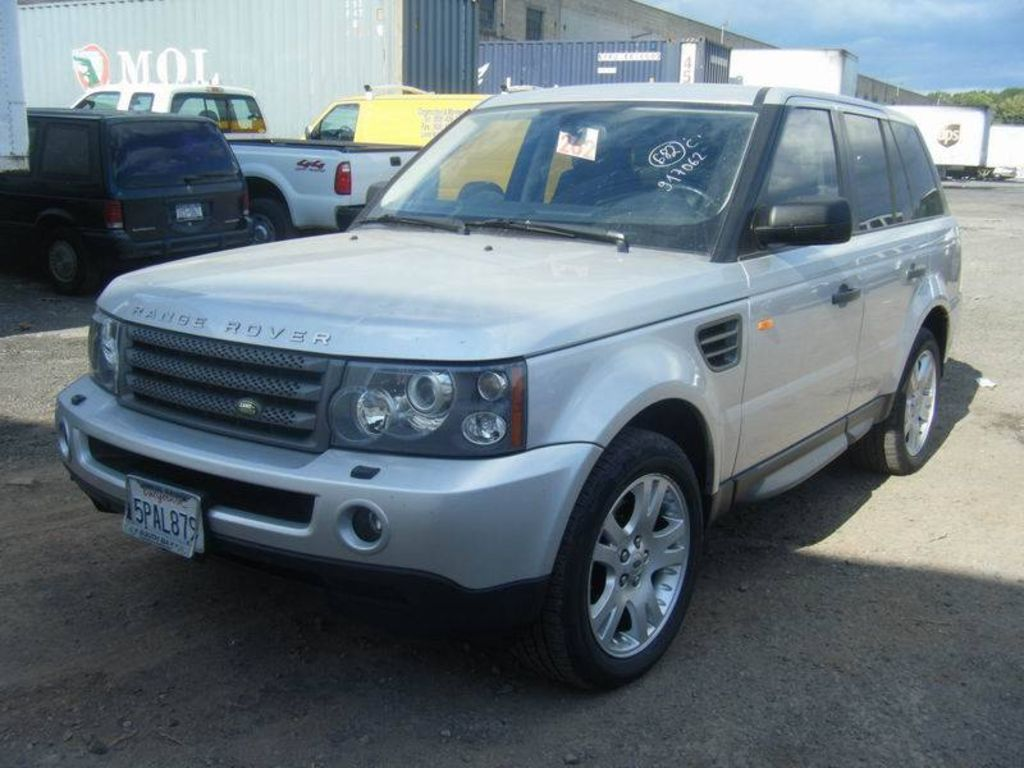 2005 land rover range rover sport pictures. Black Bedroom Furniture Sets. Home Design Ideas