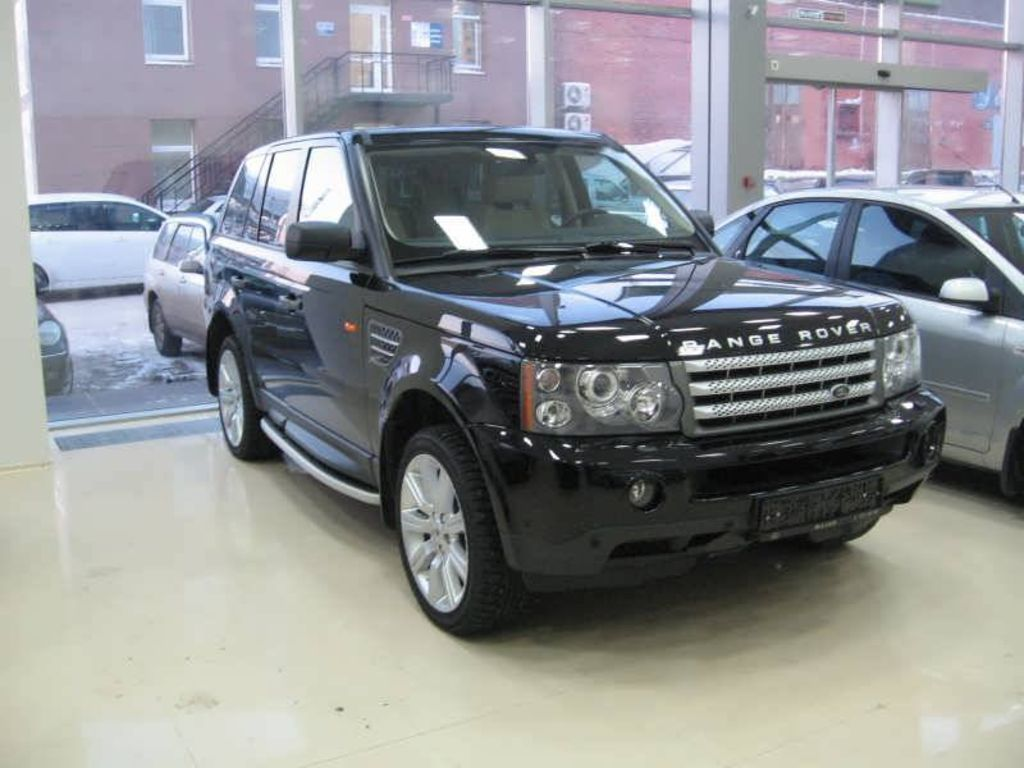2007 land rover range rover sport pics. Black Bedroom Furniture Sets. Home Design Ideas