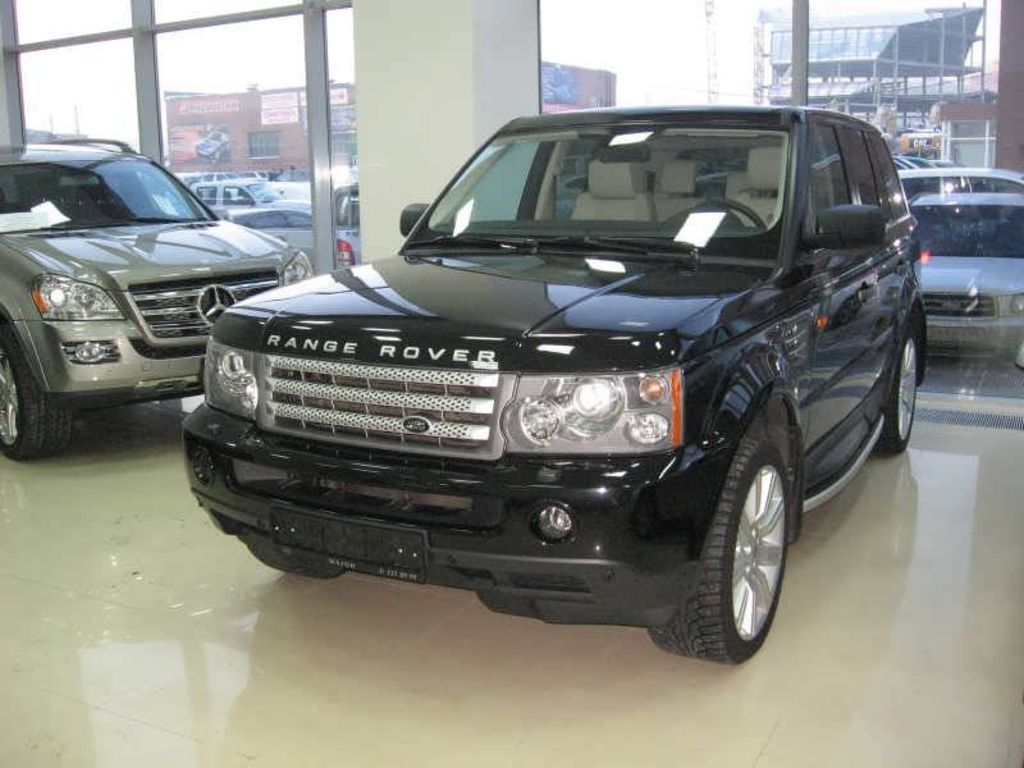 2007 land rover range rover sport images. Black Bedroom Furniture Sets. Home Design Ideas