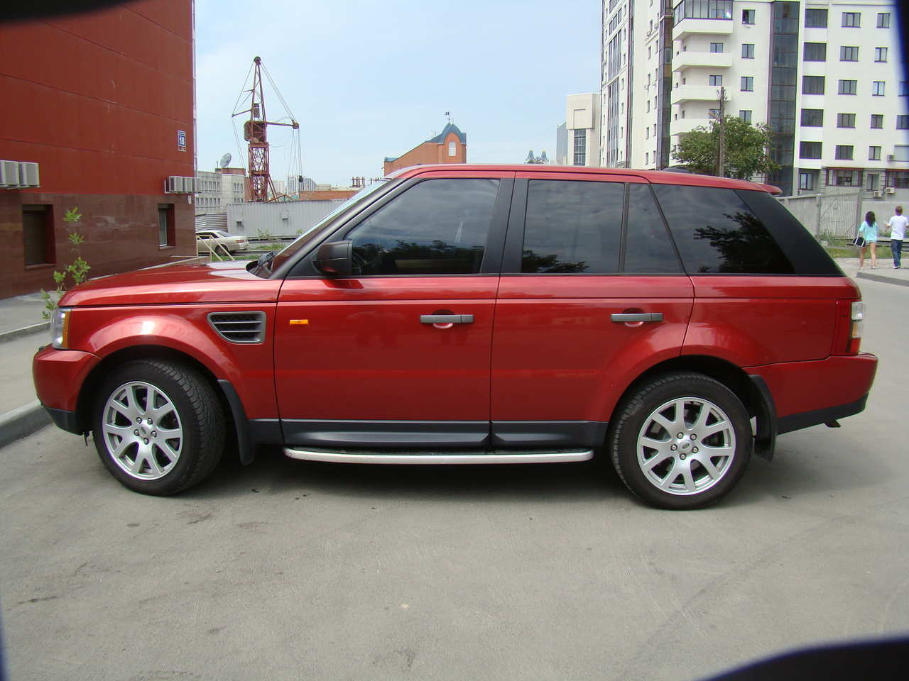 2007 land rover range rover sport photos 4 4 gasoline automatic for sale. Black Bedroom Furniture Sets. Home Design Ideas