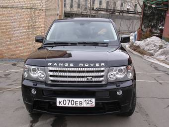 used 2008 land rover range rover sport photos 4197cc gasoline automatic for sale. Black Bedroom Furniture Sets. Home Design Ideas
