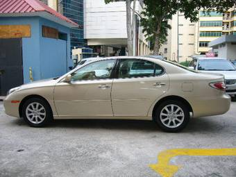 2003 lexus es300 for sale 3000cc gasoline fr or rr automatic for sale. Black Bedroom Furniture Sets. Home Design Ideas