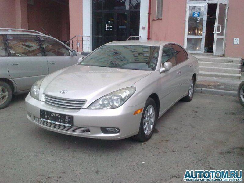 2003 lexus es300 pictures 3000cc gasoline ff automatic for sale. Black Bedroom Furniture Sets. Home Design Ideas