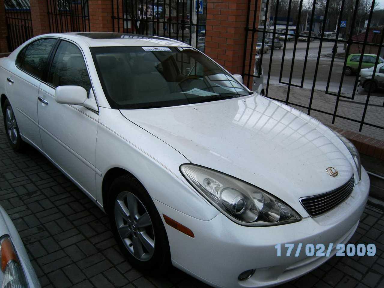 2004 Lexus Es300 Pictures, 3300cc., Gasoline, FR Or RR