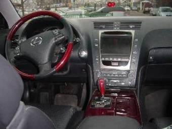 2007 lexus gs300 interior