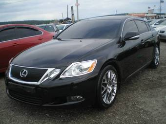 2008 lexus gs300 pictures 3 0l gasoline fr or rr