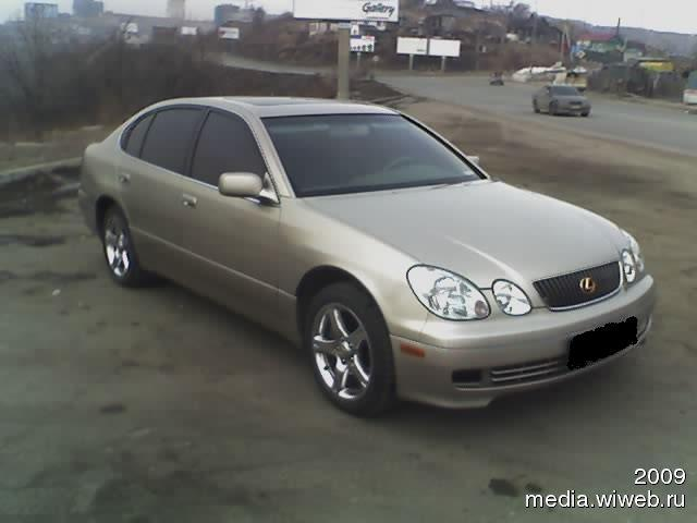 2001 lexus gs430 for sale 4300cc gasoline fr or rr. Black Bedroom Furniture Sets. Home Design Ideas