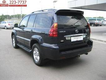 2003 lexus gx470 for sale 4700cc gasoline ff automatic for sale. Black Bedroom Furniture Sets. Home Design Ideas