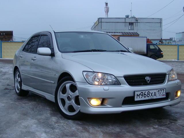 2002 lexus is200 photos, 2.0, gasoline, fr or rr, automatic for sale