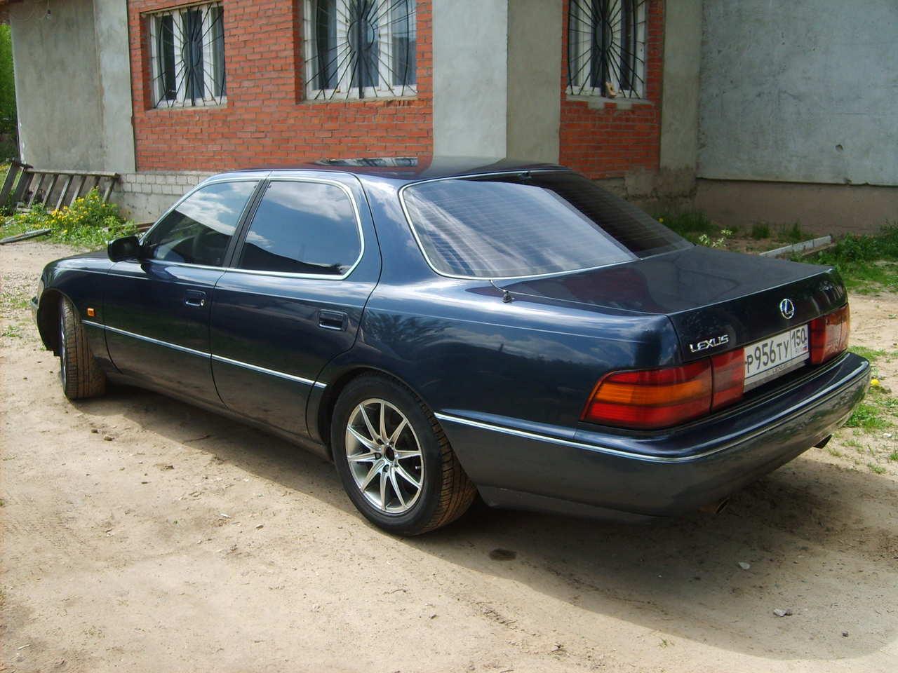 1994 Lexus Ls400 Photos, 4.0, Gasoline, FR Or RR