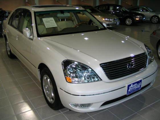 2001 lexus ls 430 mpg