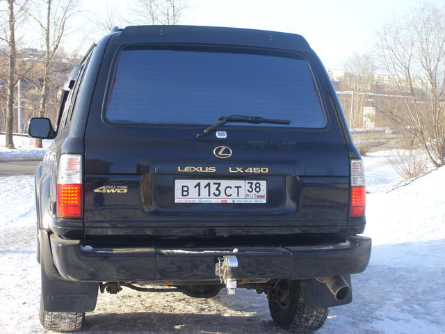 1996 Lexus Lx450 For Sale, 4 5, Gasoline, Automatic For Sale