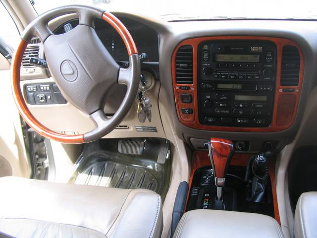 View 1999 Lexus Lx470 Interior