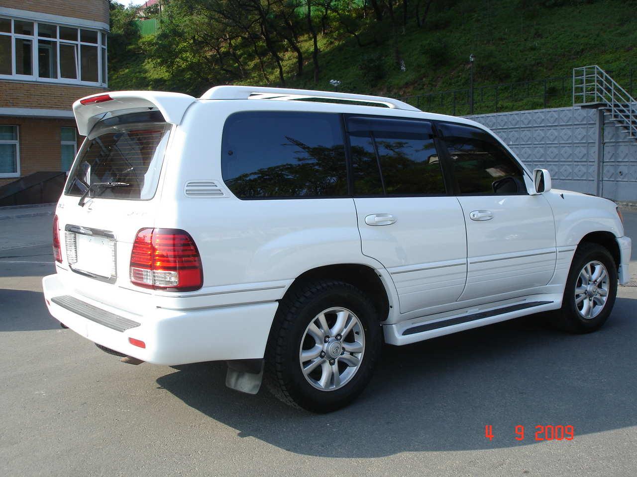 2004 Lexus Lx470 Pictures, 4.7l., Gasoline, Automatic For Sale