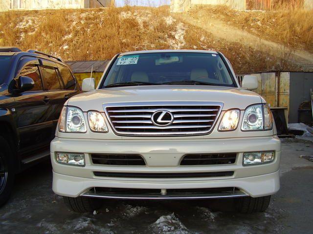 2005 Lexus Lx470 Photos