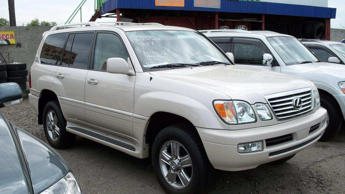 Used 2005 Lexus Lx470 Photos 4700cc Gasoline Automatic