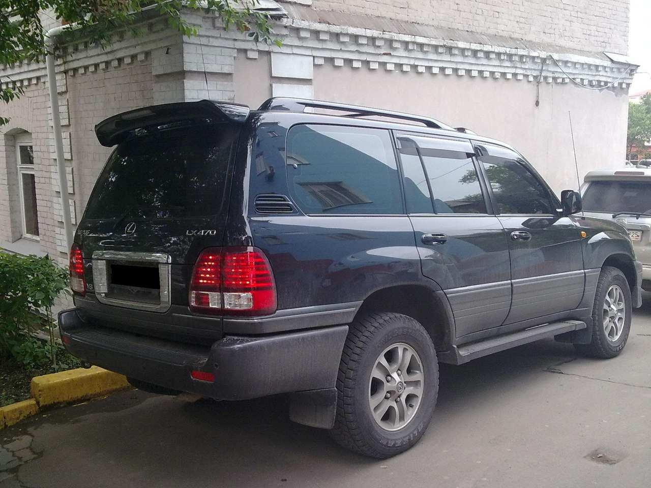 lx470 lexus 2007 enlarge