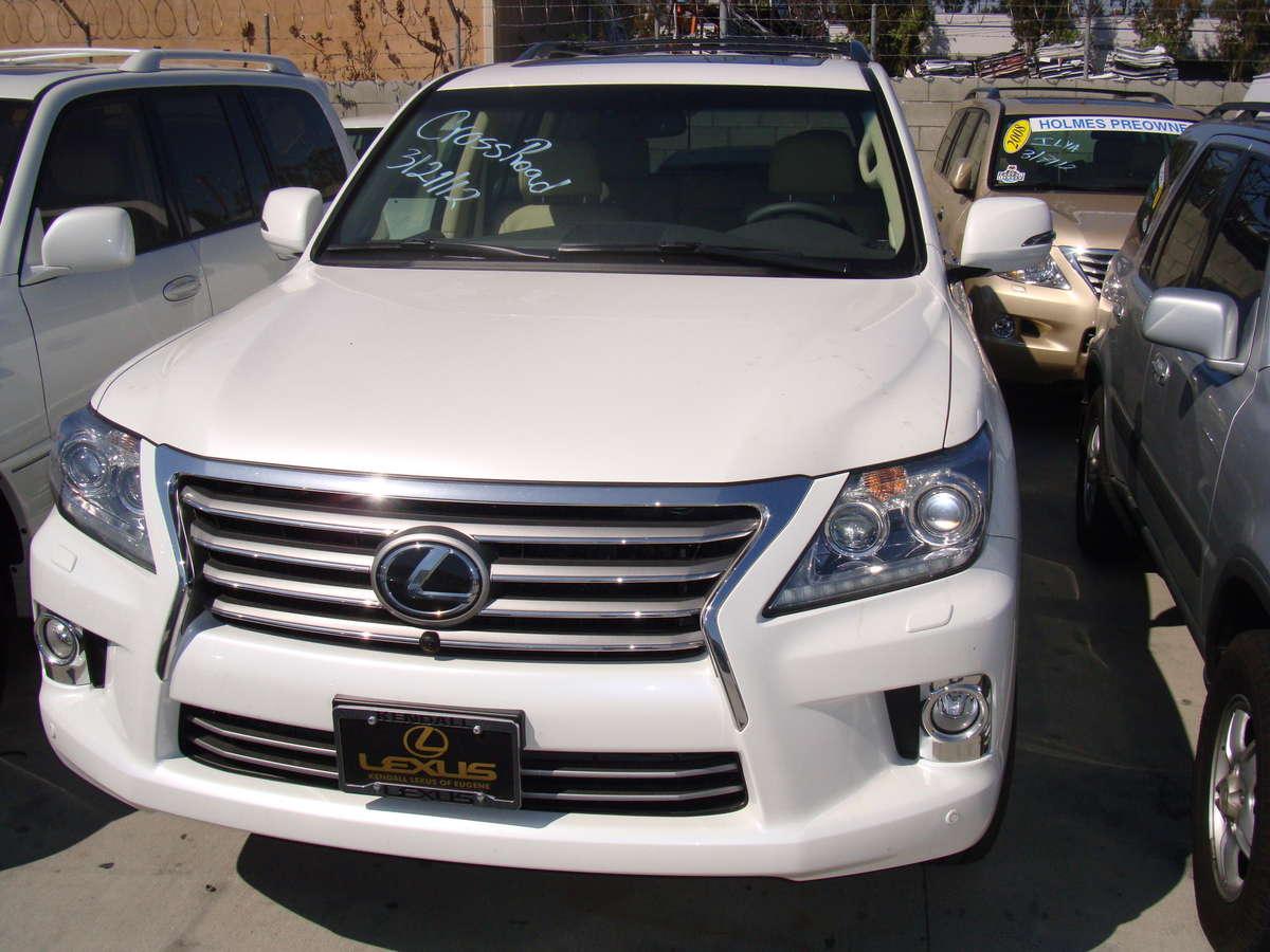 2012 Lexus Lx570 Pictures 5 7l Gasoline Automatic For Sale