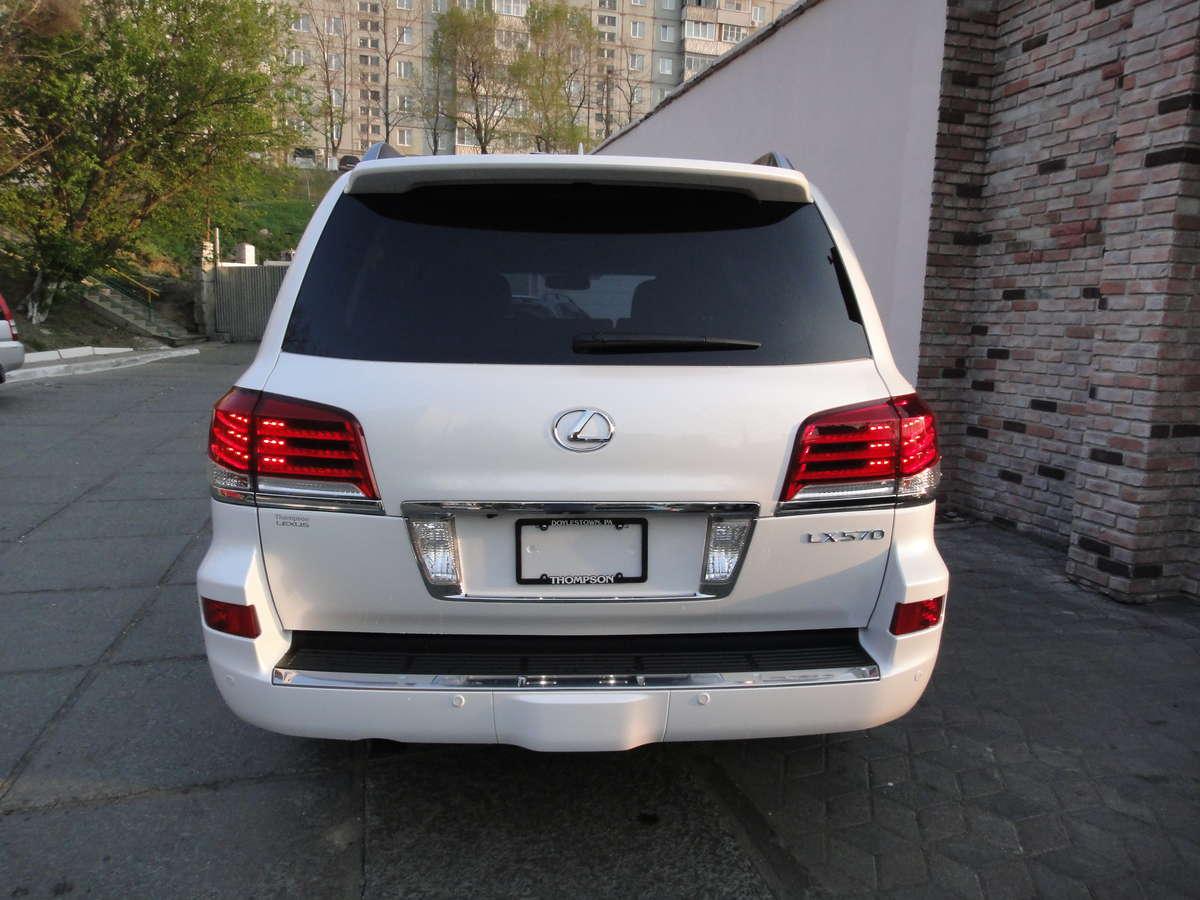 Used 2012 Lexus Lx570 Photos 5700cc Gasoline Automatic