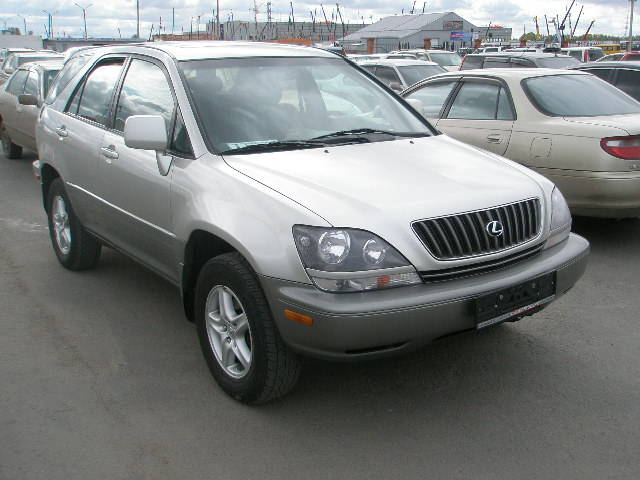 2000 lexus rx300 photos 3 0 gasoline automatic for sale. Black Bedroom Furniture Sets. Home Design Ideas