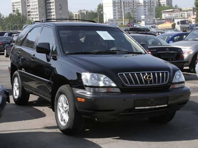 2002 Lexus Rx300 Photos 3000cc Gasoline Automatic For Sale